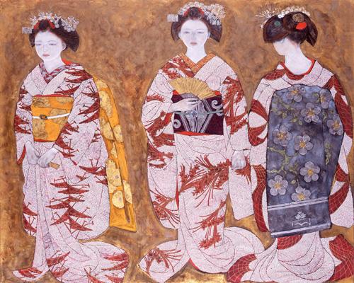 三人の舞妓